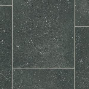 Tile Effect 0550 Non Slip Felt Back Back Vinyl Flooring