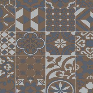 Retro 076M Moroccan Designer Vinyl Flooring