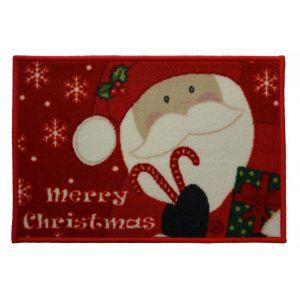 Christmas Mat 1D – Santa 40cm X 60cm -1