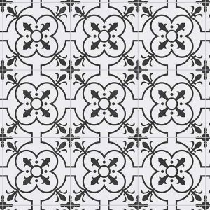 109M Designer Tile Effect Anti Slip Vinyl Flooring