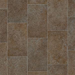 Everglades Anti Slip Tile Effect Vinyl Flooring