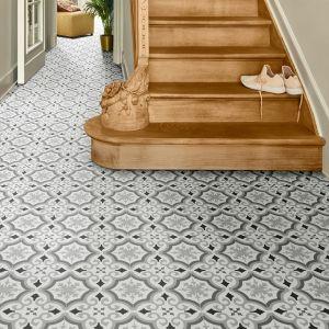 FFEP594E Tile Effect Anti Slip Vinyl Flooring