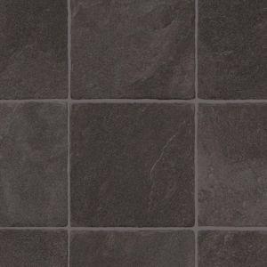 3058 Granite Carbon Stone Effect Vinyl Flooring