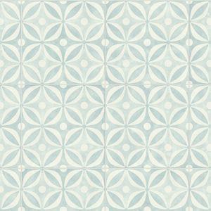 Bronson Cool Designer Effect Blue and White Vinyl Flooring