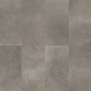 Princeton Tile Effect Non Slip Textile Backing Vinyl Flooring