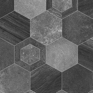 999E Hexa Stone Effect Anti Slip Vinyl Flooring